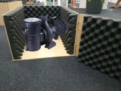 soundproofing-water pump box